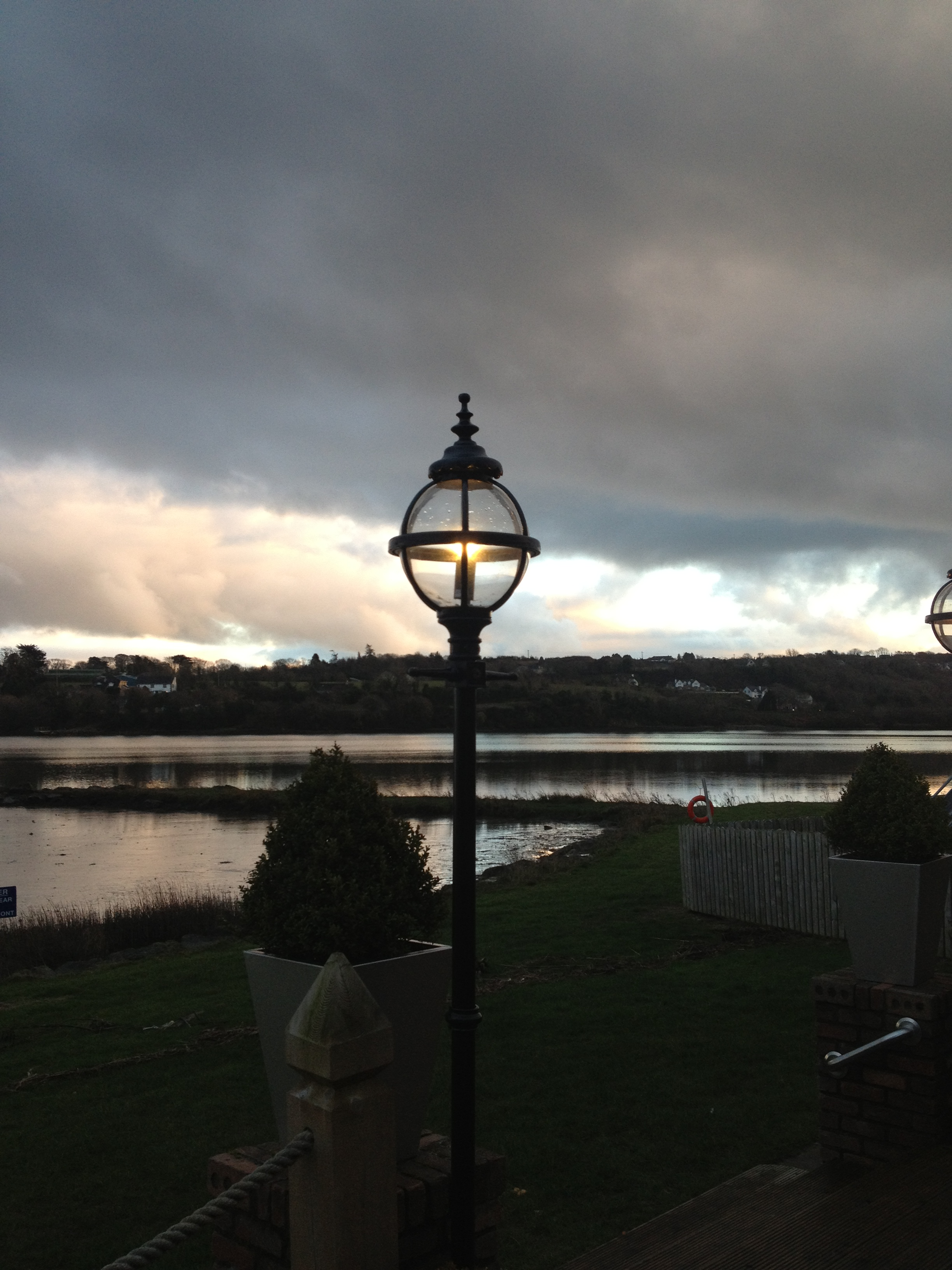 """8\'9\"""" Heritage Lamp Standard at Ferrycarrig Hotel, Wexford"""