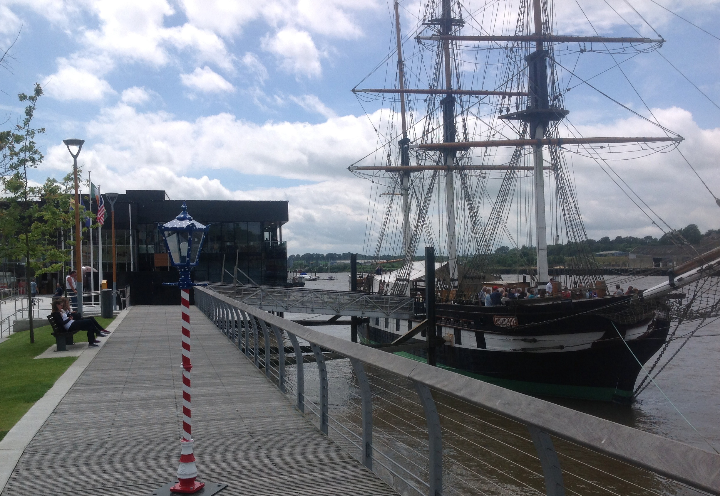 """8\'6\"""" Traditional Park Range for the 4th of July Celebrations at Dunbrody Famine Ship, The Quay, New Ross"""