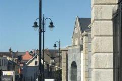 Double Tear Drop Street Lighting at College Street, Carlow