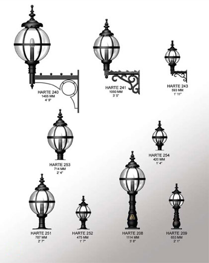 Harte Heritage Lighting Range