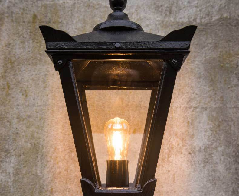 Harte Outdoor Lighting Cast Iron Products