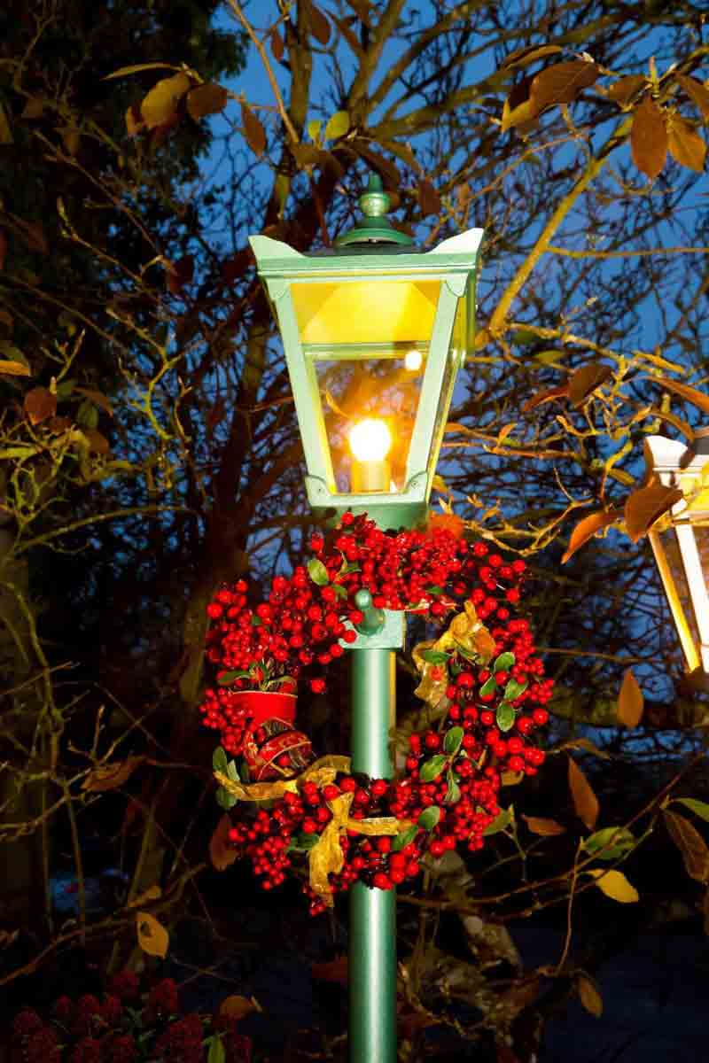 Outdoor Light at Christmas